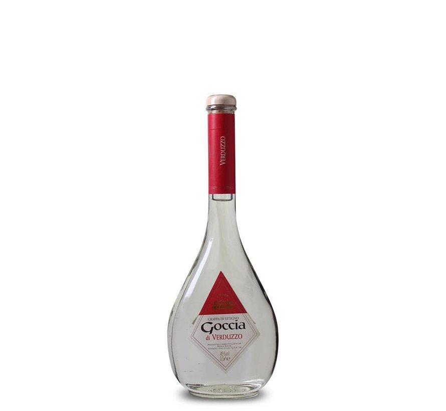 Goccia di Verduzzo - Grappa 50 CL (1 fles)