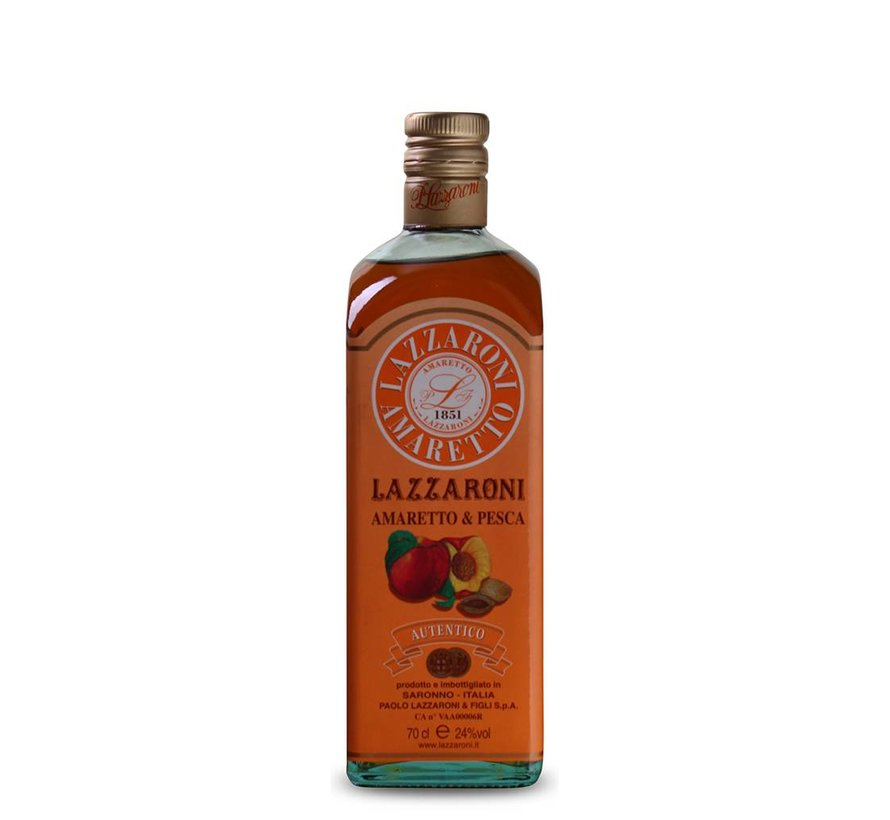 Lazzaroni - Amaretto & Pesca liqueur 70 CL