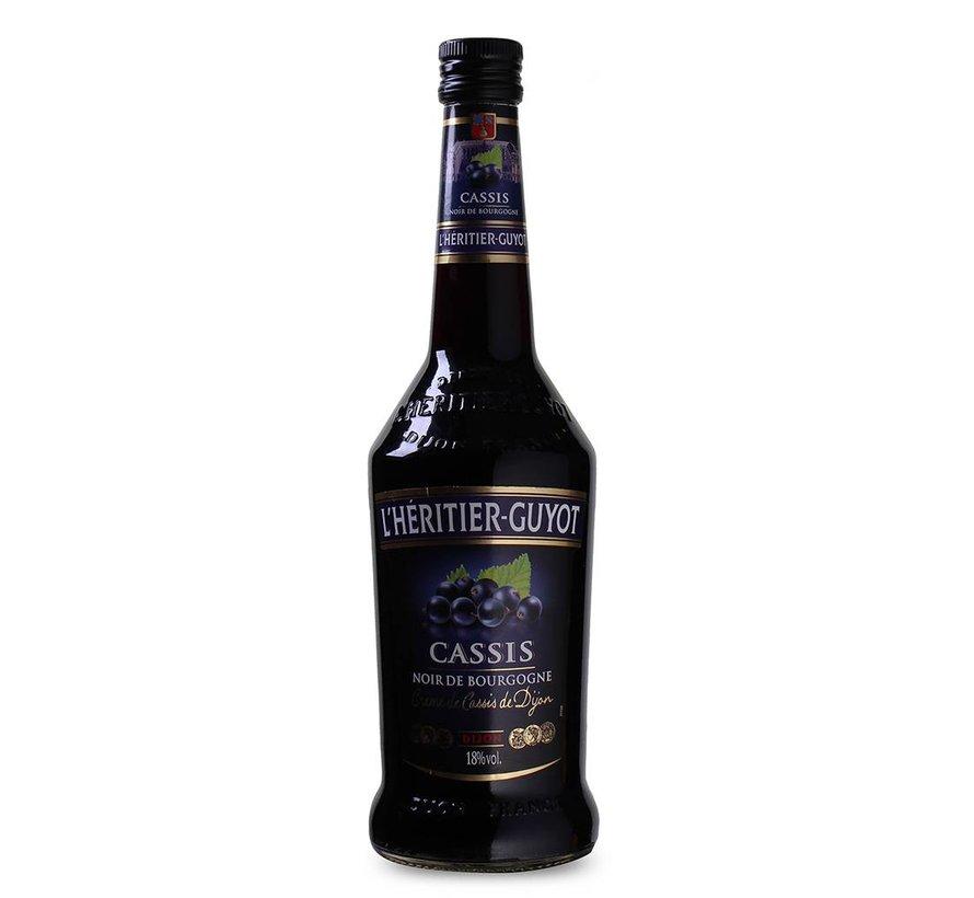 (L'Heritier-Guyot Creme Cassis Noir Bourgogne 70 CL