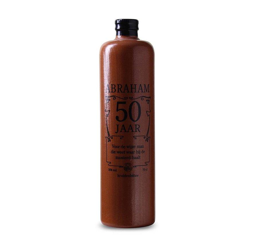 Abraham - 50 Levenselixer kruidenbitter kruik 70 CL