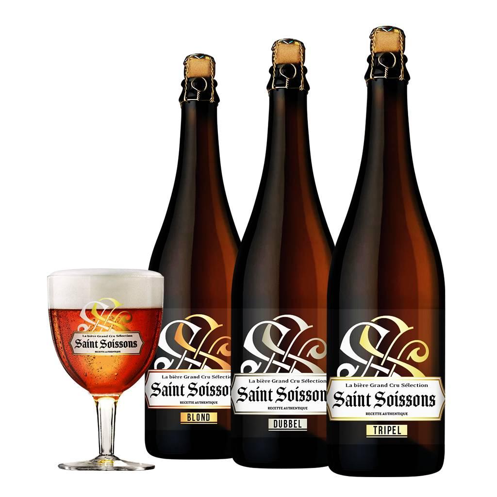Afbeelding van Bierpakket Saint Soissons Mix (3 flessen)