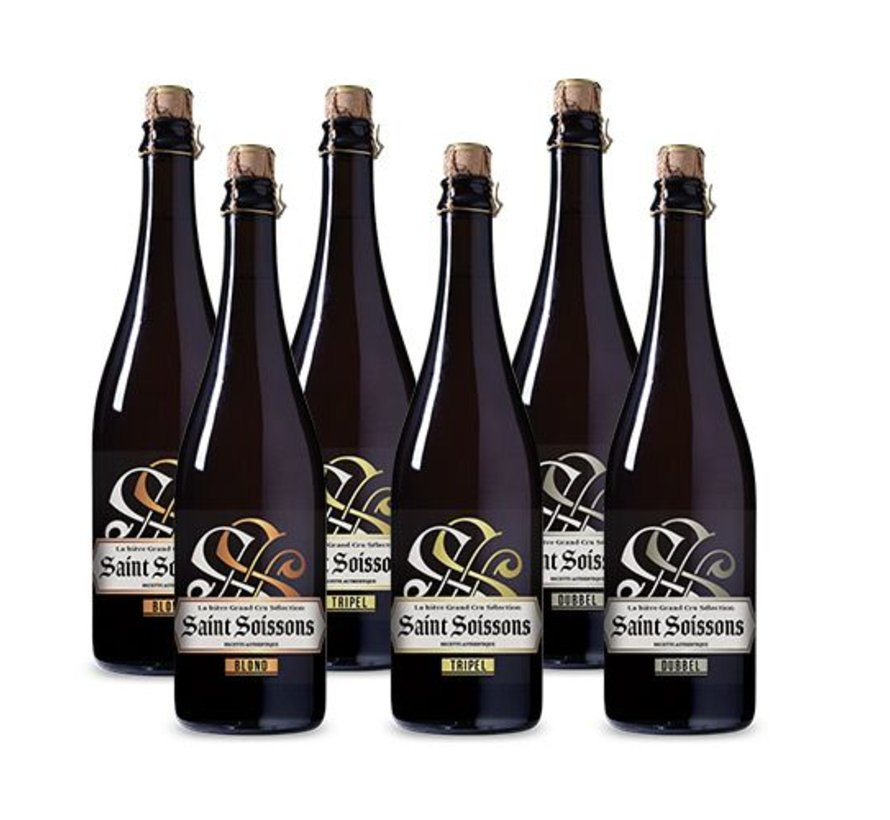 Bierpakket Saint Soissons Mix (6 flessen 75 CL)