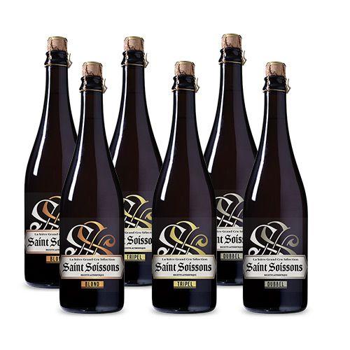 Afbeelding van Bierpakket Saint Soissons Mix (6 flessen)