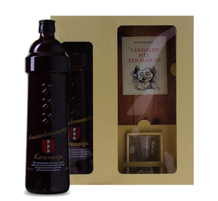 Amsterdammertje - Korenwijn 100 CL (1 fles)