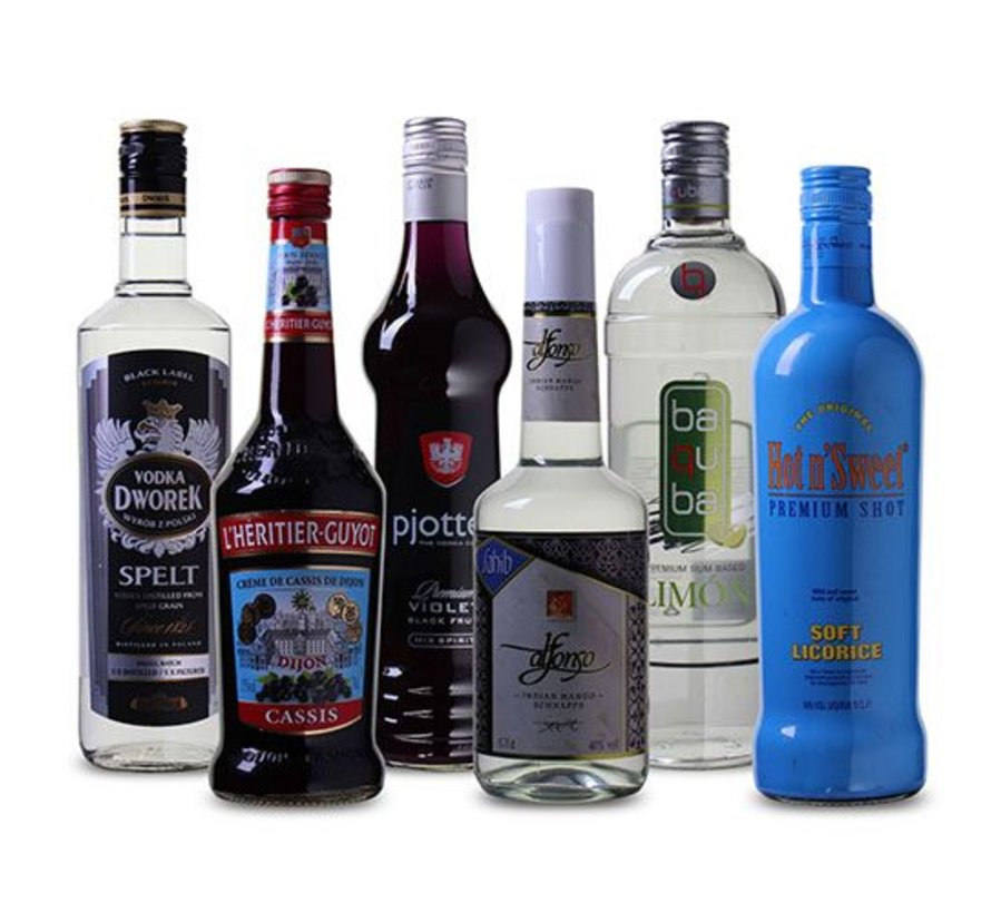 Drankpakket Zomerse  Cocktail (6 flessen)