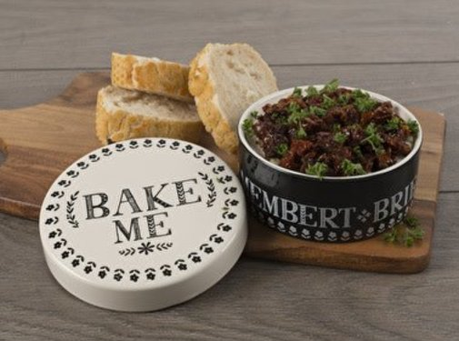KitchenCraft; Engelse Kwaliteitsprodukten Cheese baker, Gourmet aardewerk Camembertbakker diverse kleuren