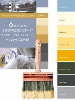 Amazona Krijtverf & Kleurwas Duiker / Zonnestraal serie 8 Kleuren