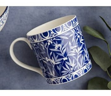 V&A The Cole Collection mok blauw