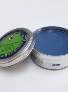 Amazona Krijtverf & Kleurwas Colourwax Denim - blauw 250 ml.