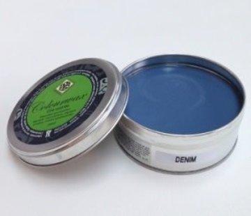 Amazona Krijtverf & Kleurwas Colourwax Denim 250 ml.