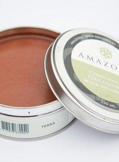 Amazona Krijtverf & Kleurwas Colourwax Terra 250 ml.