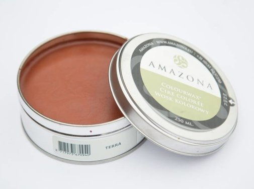 Amazona Krijtverf & Kleurwas Colourwax Terra 250 ml.