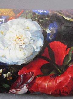 Zisensa, private collection Unieke woonaccessoires Kussen fluweel Pioenroos Rijksmuseum