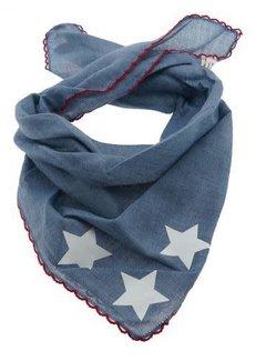 Zisensa, private collection Unieke woonaccessoires Baby sjaaltje jeans sterren