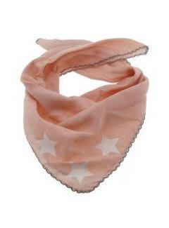 Zisensa, private collection Unieke woonaccessoires Baby sjaaltje beige sterren