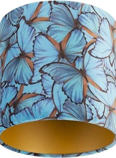 Zisensa, private collection Unieke woonaccessoires Lampenkap Fluweel vlinder 20x20x20