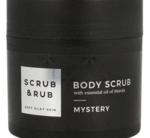 Scrub & Rub; Bad en bodyproducten Scrub & Rub Mysterie serie