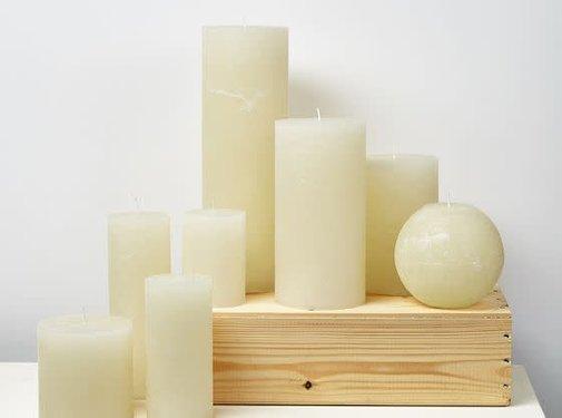 Branded By; Hoge kwaliteitskaarsen Stompkaars White 1 lont