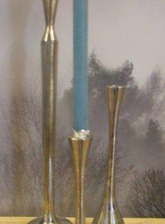 Zisensa, private collection Unieke woonaccessoires Copy of Kandelaar zilverkleurig -m-
