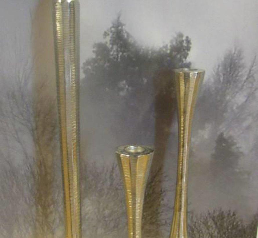 Copy of Kandelaar zilverkleurig -m-