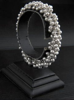 HeviHandmade; Zilveren sieradenlijn Copy of Hevi  Handmade armband verzilverd circus