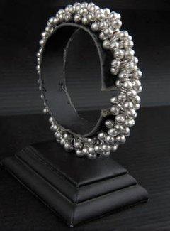 HeviHandmade; Zilveren sieradenlijn Handmade armband verzilverd