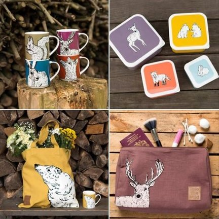 Into The Wild; Servies en keukentextiel dierenserie