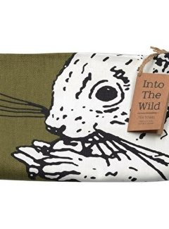 Into The Wild; Servies en keukentextiel dierenserie Into The Wild Eekhoorn Theedoek