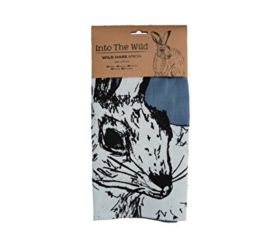 Into The Wild schort blauw; Haas