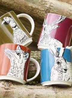 Into The Wild; Servies en keukentextiel dierenserie Mug Into the Wild, deer, polar bear, fox, squirrel, hare