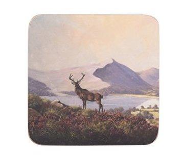 KitchenCraft; Engelse Kwaliteitsprodukten Coaster Hert set of 6 pieces