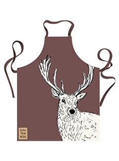 Into The Wild; Servies en keukentextiel dierenserie Into The Wild Stag Apron