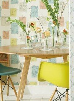 """Little Greene Paint & Paper Behang Kruiden """"Herbes"""""""