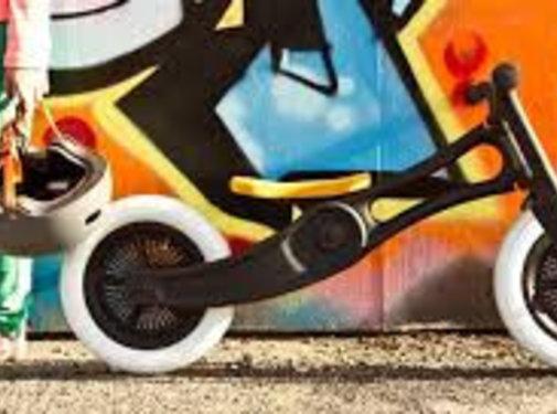Wishbone; houten loopfietsen en schommelpaarden Wishbone Bike 2in1 - Recycled Edition