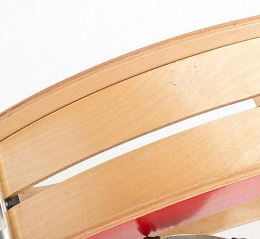 Wishbone Mini FLIP Top GROEN + eigen samenstelling basis + wielen