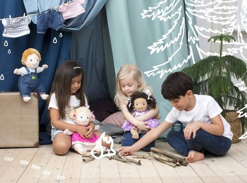 Rubens Barn; Emotiepoppen Rubens Barn Kids Lollo