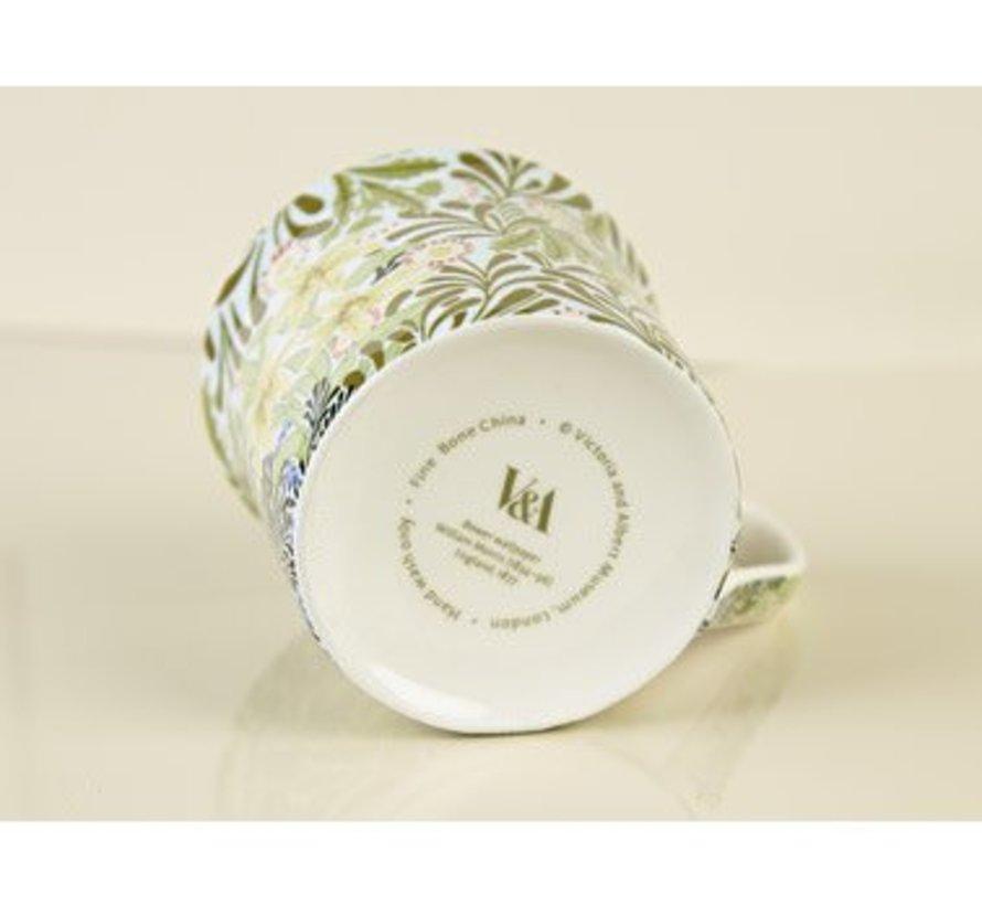 Copy of V&A William Morris fine bone china mok Honey Suckle