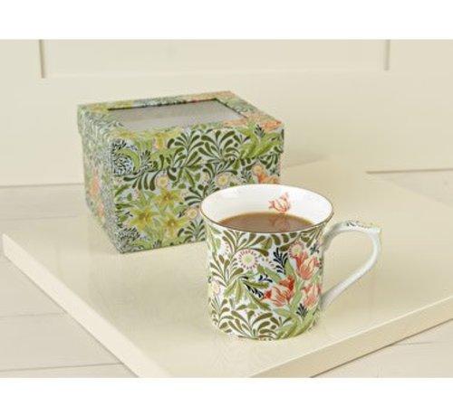V&A The Cole Collection Copy of V&A William Morris fine bone china mok Honey Suckle