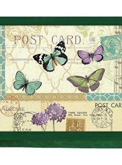 Creative Tops Laptray, schootkussen ;Vlinders briefkaart