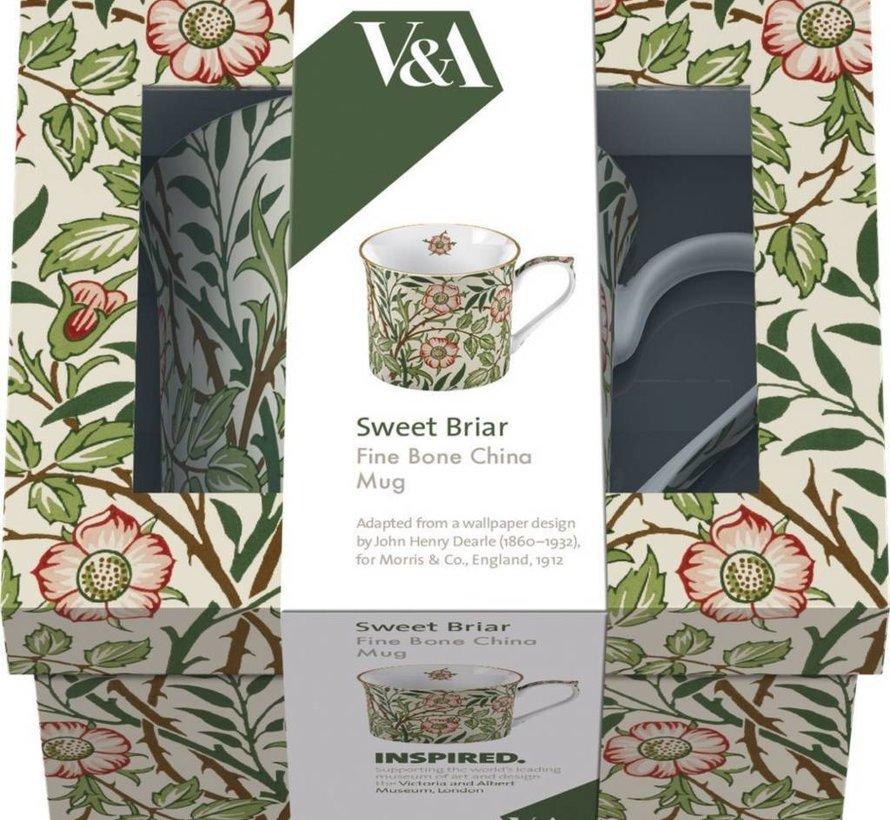 Copy of V&A William Morris fine bone china mok sweet briar