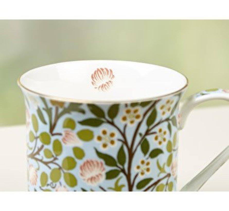 Copy of V&A William Morris fine bone china mok Sweet Briar Rose
