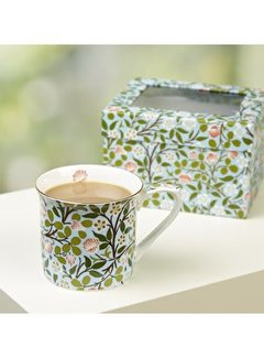 V&A The Cole Collection fine bone china mok Clover