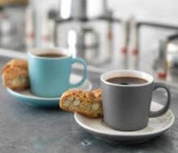La Cafetiere; Cafetieres & Espressomakers Barcelona schotel voor espressokopje  aardewerk , meerdere kleuren