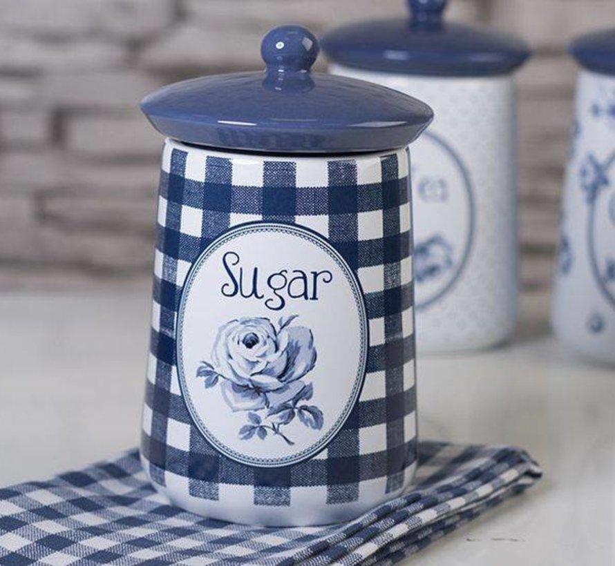 Set van 3 voorraadpotten, koffie-thee-suiker