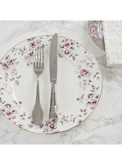 Katie Alice Ditsy Floral Porseleinen dinerbord wit gebloemd