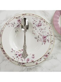 Katie Alice Ditsy Floral; Engels Servies met bloemen Copy of Ditsy Floral fine bone china dinerbord wit