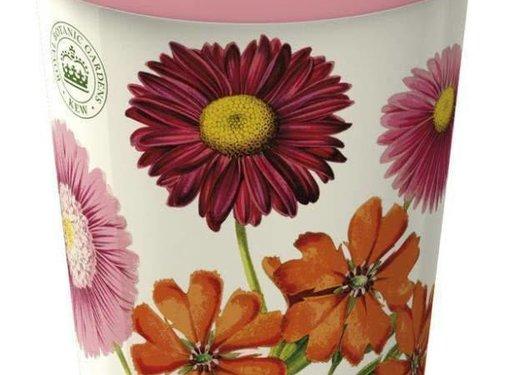 Kew Gardens; Engels servies met bloemen Travelmug; Kew Gardens - painted daisy