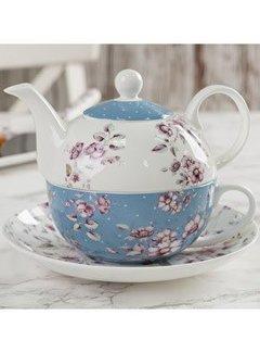 Katie Alice Ditsy Floral Tea-for-one blauw wit gebloemd