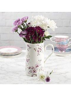 Katie Alice Ditsy Floral wit gebloemde porseleinen schenkkan - karaf