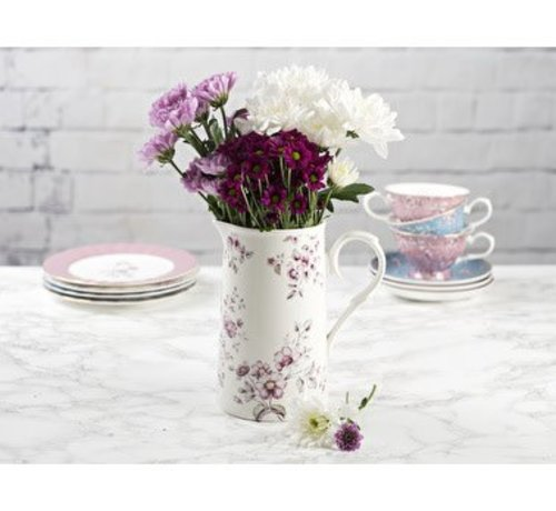 Katie Alice Ditsy Floral; Engels Servies met bloemen Porseleinen karaf gebloemd